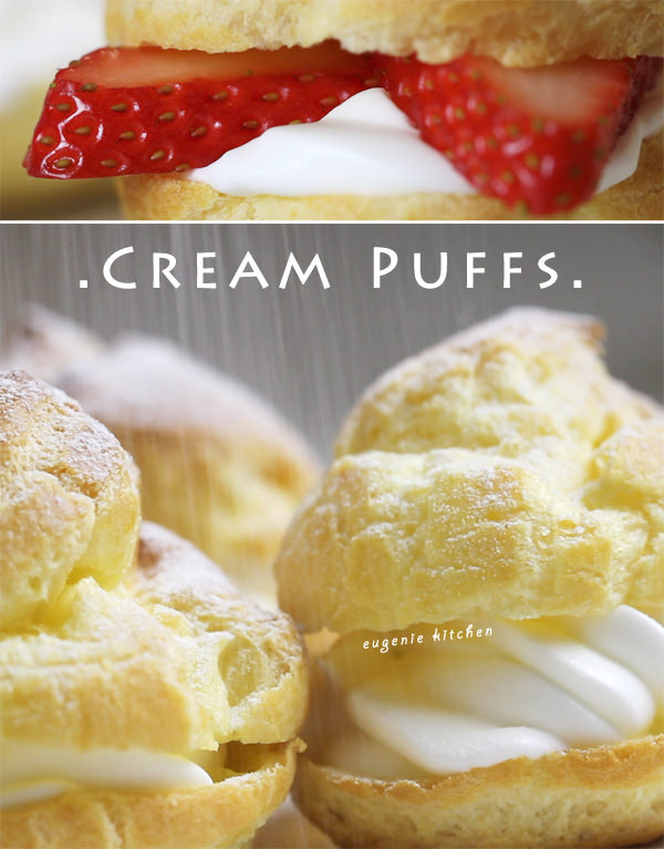 French Cream Puffs recipe