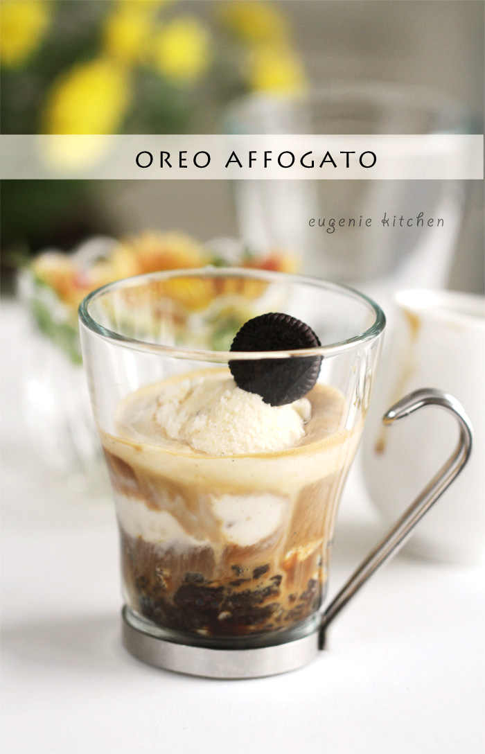 Mcdonald S Oreo Affogato 3 Ingredient Ice Cream Coffee