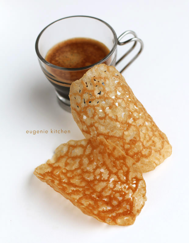 Coffee Tuiles Recipe - Crisp French Wafers